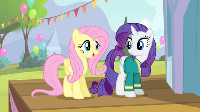 File:Fluttershy 'are really gonna make the Ponyville Pet Center fundraiser' S4E14.png
