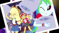 Photograph of Equestria Girls having a pillow fight EG4
