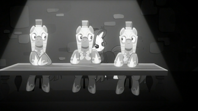 "File:Rarity ""being a castle guard can be thankless work"" S5E15.png"