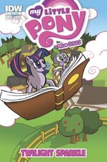 Micro-Series Issue 1 early Cover B
