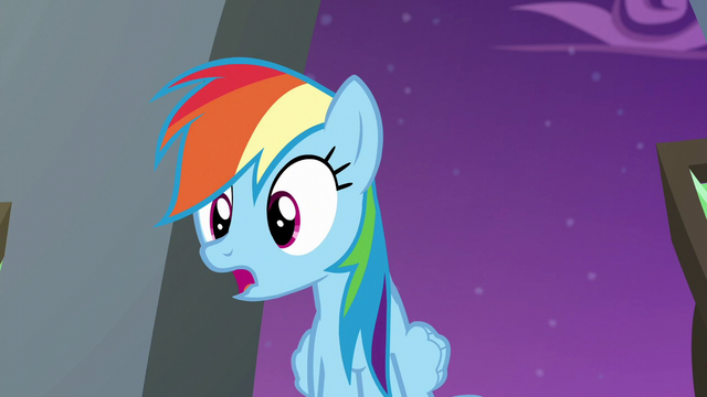 "File:Rainbow ""what could be wrong?"" S6E7.png"