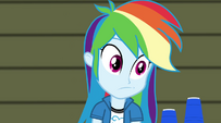 Rainbow Dash looking clueless EG2