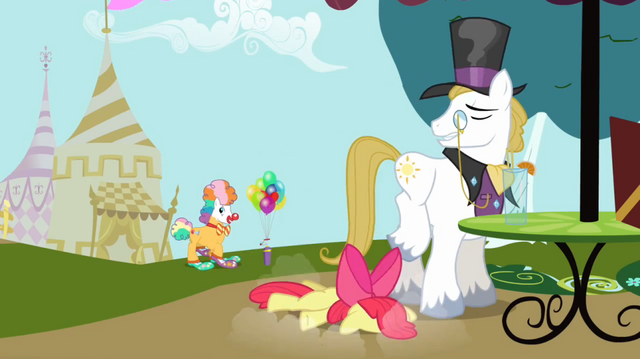 File:Apple Bloom falling near snobby stallion S2E17.png