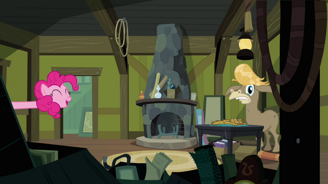 File:Pinkie Pie pops in on Cranky Doodle again S02E18.png