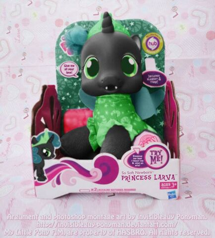 File:FANMADE Princess Larva Toy.jpg