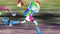 Rainbow Dash being chased by birds EG2