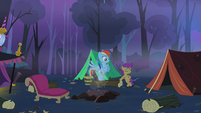 Scootaloo back at acting cool S3E06