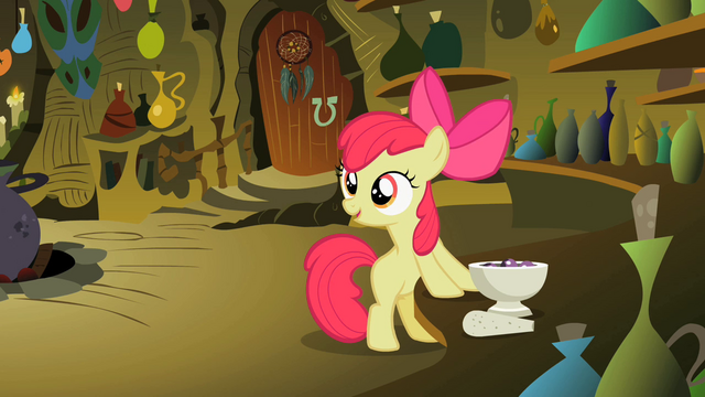 File:Apple Bloom looking away from the potion bowl S2E6.png