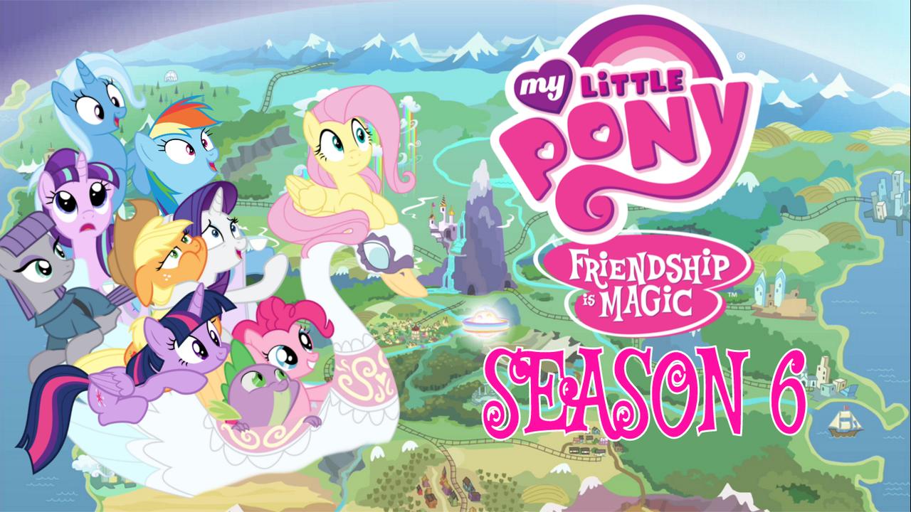 Image - FANMADE MLP Season 6 Wallpaper.png | My Little ...