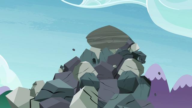 File:Giant boulder starts falling S4E18.png