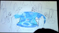S5 animatic 36 The table has a map of Equestria on it