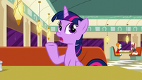 "Twilight ""opening a store in Manehattan"" S6E9"