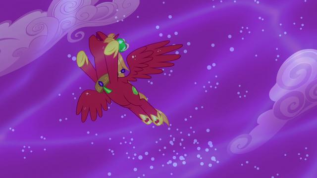 File:Alicorn Big Mac flies through the sky S5E13.png
