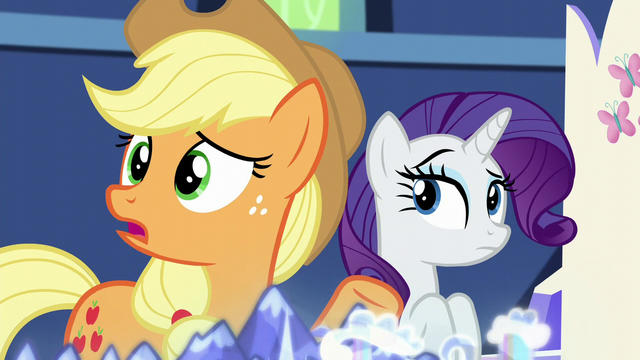 "File:Applejack ""how will we even know"" S5E16.png"