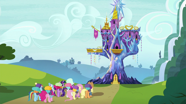 File:Mane Six returning home S6E17.png