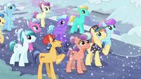 Pin Pony in tearful joy S6E2