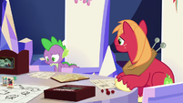 "Spike ""all alone... with no friends"" S6E17"