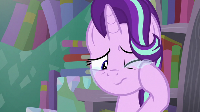 File:Starlight touches her tears S6E2.png