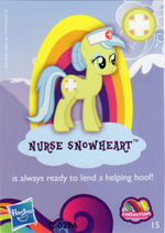 Wave 9 Nurse Snowheart collector card