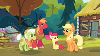 Applejack 'She does not have to feel obliged to consider herself one' S4E09