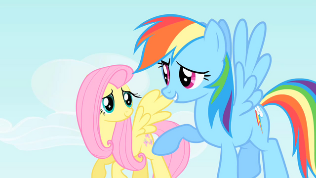 "File:Rainbow Dash ""He'll be pretty upset"" S1E25.png"