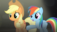 "Rainbow Dash ""go get your cutie marks back"" S5E1"