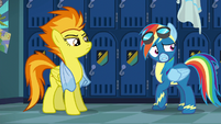 Rainbow Dash very anxious S6E7