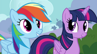 "Rainbow Dash ""never done it before"" S4E16"