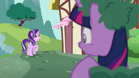 Starlight Glimmer groans with annoyance S6E6