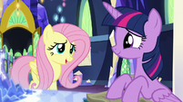 "Fluttershy ""so lucky I'm being sent with you"" S5E23"