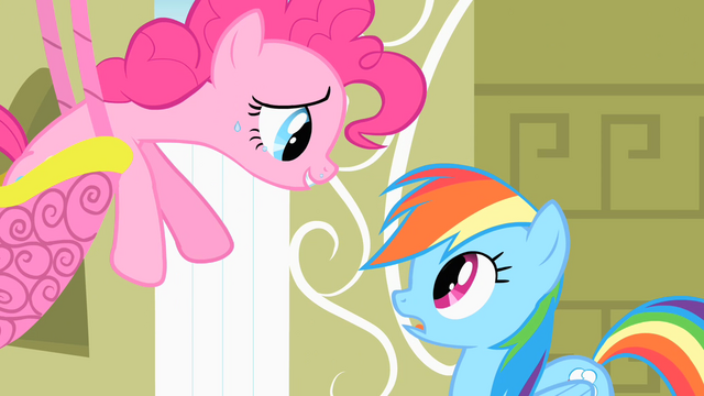 File:Pinkie Pie singing to Rainbow Dash S1E25.png