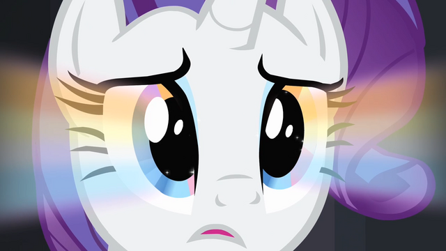 File:Rainbow glow on Rarity's iris S4E08.png