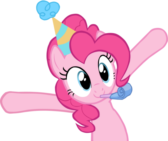 File:FANMADE Pinkie Pie celebrating with arms up.png