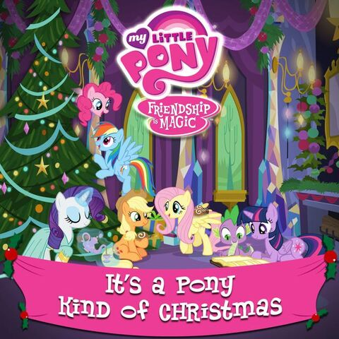 File:It's a Pony Kind of Christmas album cover.jpg