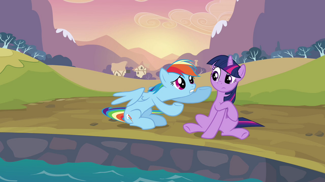 File:Rainbow Dash telling Twilight S2E22.png