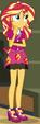 Sunset Shimmer School Spirit ID EG3