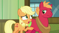"Young Applejack ""Big Mac can't come!"" S6E23"