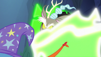 Discord Changeling dropping his disguise S6E26
