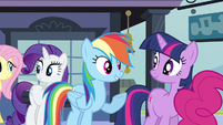 Rainbow Dash but never had S3E12