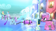 Crystal Pony vacuuming S03E12