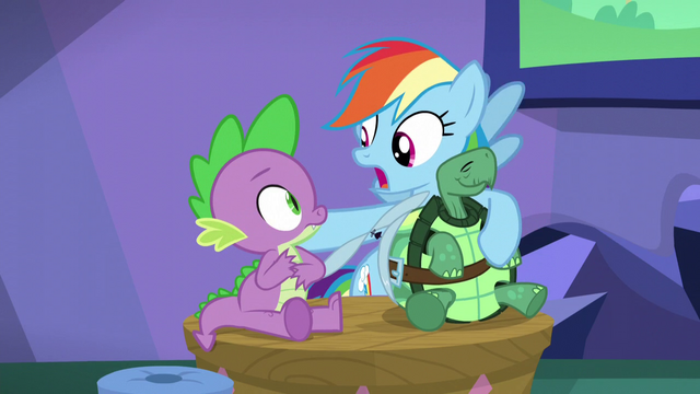 "File:Rainbow ""Same family though, right?"" S5E5.png"