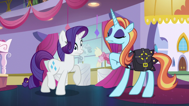 File:Sassy promising and Rarity dizzy S5E14.png