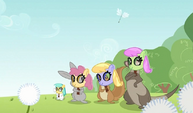 Animals with pegasi masks S02E22