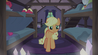 Applejack approaching the window S5E20