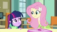"Fluttershy ""I'll still vote for you"" EG"