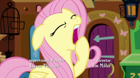 Fluttershy yawning S5E3