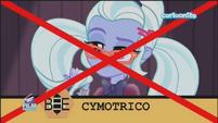 Friendship Games Sugarcoat misspells 'cymotrichous' - Italian