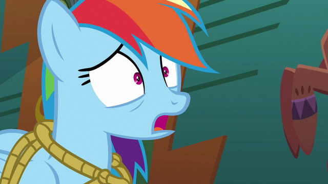 File:Rainbow Dash tries to speak S6E13.png