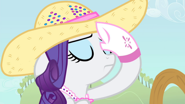 File:Rarity wipes her sweat S4E13.png