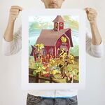 All Of Apple Acres art print WeLoveFine